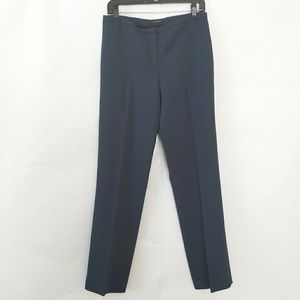Elie Tahari Womens Navy Blue Dress Pants Size 6